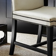 Squareback Dining Chair Detail